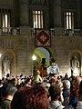 Ajuntament - Arribada de la xambanga de gegants P1160582.JPG