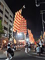Akita Kanto Festival 2015 at night.JPG