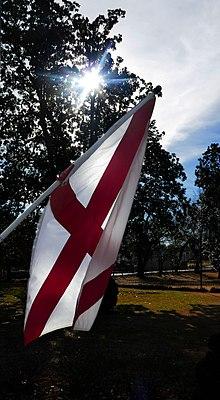 Flag Of Alabama Wikipedia