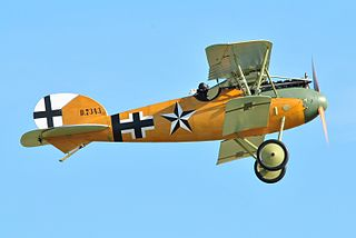 Albatros D.V fighter aircraft