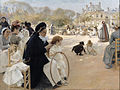 Albert Edelfelt - The Luxembourg Gardens, Paris - Google Art Project.jpg