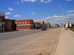 Didsbury, Alberta - Main Street in Didsbury