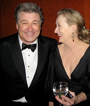 It's Complicated (film) - Image: Alec Baldwin, Meryl Streep 15th Annual Screen Actors Guild Awards