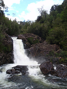 Alerce Andino National Park Waterfall.jpg