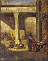 Alexandre-Gabriel Decamps - Bazaar in Cairo - 68.014 - Rhode Island School of Design Museum.jpg