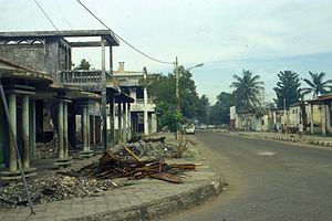 1999 East Timorese crisis - Destructions in Dili