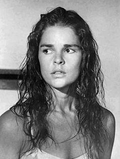 Ali MacGraw American actress