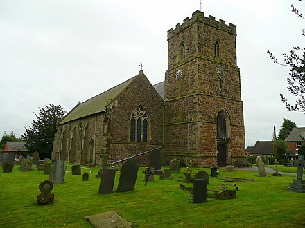 All Saints' Church, Thurlaston All Saints' church, Thurlaston - geograph.org.uk - 1054942.jpg