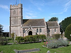 English: All Saints Church, Compton Greenfield.
