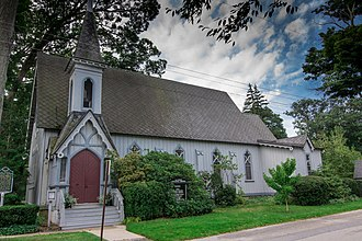 Allegan County, Michigan - Image: All Saints Episcopal Church Saugatuck