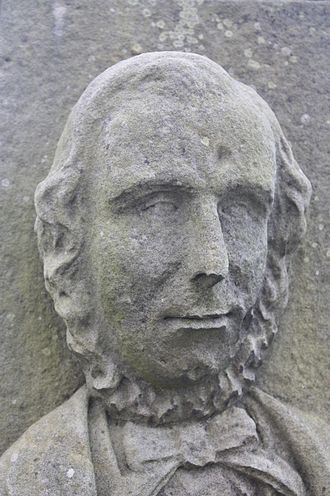 Allan Robertson - Allan Robertson as carved on his grave, St Andrews