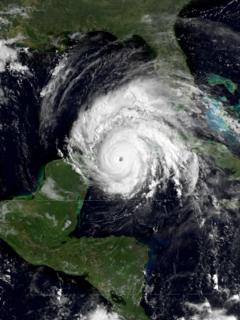 Hurricane Allen Category 5 Atlantic hurricane in 1980