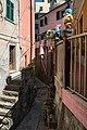 Alley - Riomaggiore, La Spezia, Italy - August 29, 2015 - panoramio.jpg