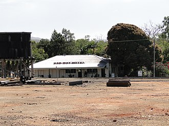 Almaden, Queensland - Railway Hotel at Almaden