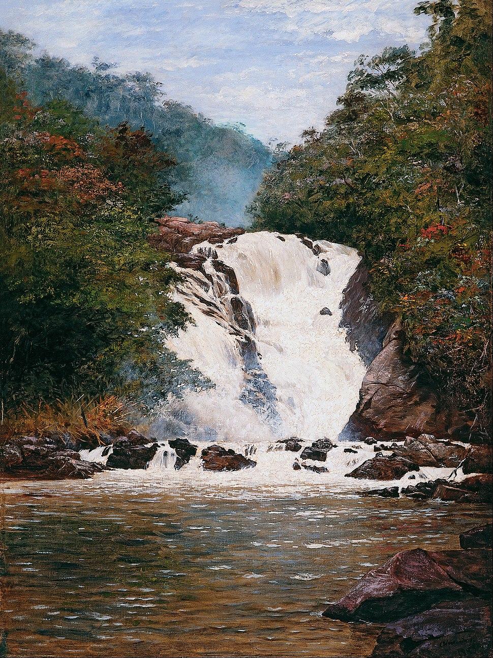 Almeida Júnior - Votorantim Waterfall - Google Art Project