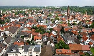 Langen, Hesse - Image: Altstadtblick