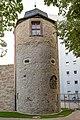 Am Oberen Wall, Stadtmauer und Samtturm Schweinfurt 20190906 002.jpg