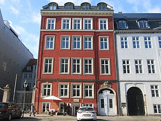 Amaliegade 11 Building in Copenhagen