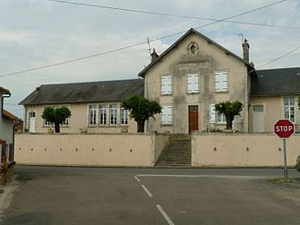 Ambernac - Town Hall and School