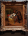 Amsterdam - Rijksmuseum 1885 - The Gallery of Honour (1st Floor) - The Sick Woman 1665-66 by Jan Steen.jpg