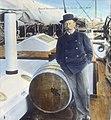 Amundsen ombord. Gjöa 1903.1906. (9471830966).jpg