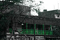 An old building with newly painted grill near Maniktala crossing-P1080539.jpg