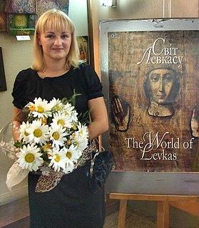 Anastasiya Markovich Ukrainian painter