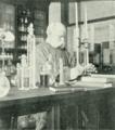 Andew Noble in his laboratory - Page's Magazine 1902.png