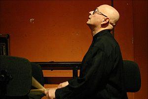 Advent (film) - Andrea Centazzo, composer of Advent (Ad-vientu).