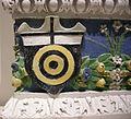 Andrea della robbia, adorazione dei magi, 1500-10, stemma albizi.JPG