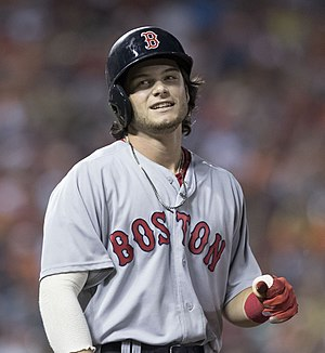 Andrew Benintendi - Benintendi with the Boston Red Sox in 2016