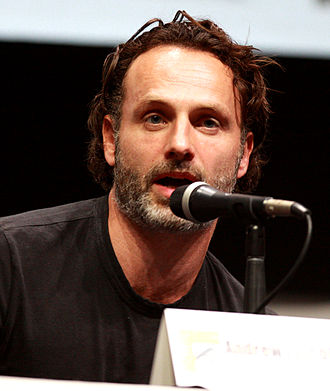 The Walking Dead (season 4) - Image: Andrew Lincoln by Gage Skidmore