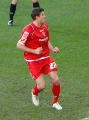 Andy Gray (footballer, born 1977) - Gray playing for Barnsley