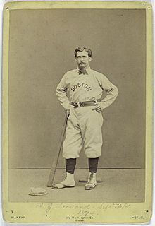 Andy Leonard American baseball player
