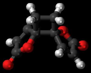Anemonin - Image: Anemonin 3D ball