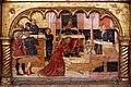 Angelo e bartolomeo degli erri, polittico dell'ospedale della morte, 1462-66, predella 04 banchetto di erode.jpg