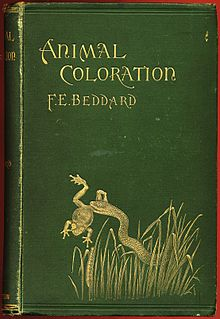 Animal Coloration by Frank Evers Beddard 1892 cover.jpg
