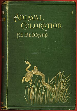 Animal Coloration (book) - Cover of first edition