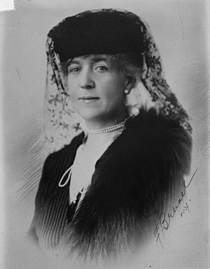 William Kissam Vanderbilt - Anne (née Harriman) Sands Rutherfurd, the second wife of William Kissam Vanderbilt, ca. 1915