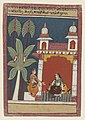 Anonymous - Ragini Patamanjari, an illustration from a Ragamala - 2001.138.50 - Yale University Art Gallery.jpg