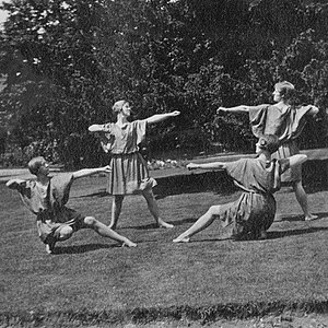 Anstey College of Physical Education - Anstey College, 1921: Greek Dancing