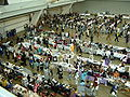 Anthrocon 2007 Giza fursuit parade through dealers hall and artists alley.jpg