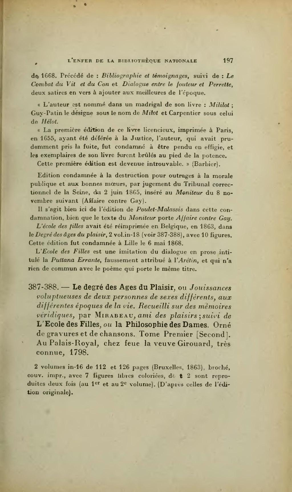Pageapollinaire Lenfer De La Bibliothèque Nationaledjvu203