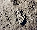 Apollo 11 Bootprint - Flickr - NASA on The Commons.jpg