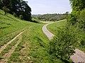 Approaching Pinbury Park lake - geograph.org.uk - 464888.jpg