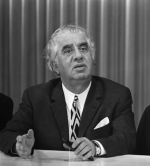 Aram Khachaturian - Khachaturian in the Netherlands in 1971