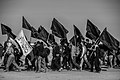 Arba'een In Mehran City 2016 - Iran (Black And White Photography-Mostafa Meraji) اربعین در مهران- ایران- عکس های سیاه و سفید 09.jpg