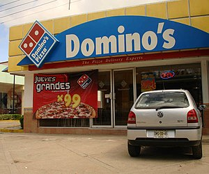 Domino's Pizza - Dominos Pizza in Tuxtla Gutiérrez, Chiapas, Mexico.