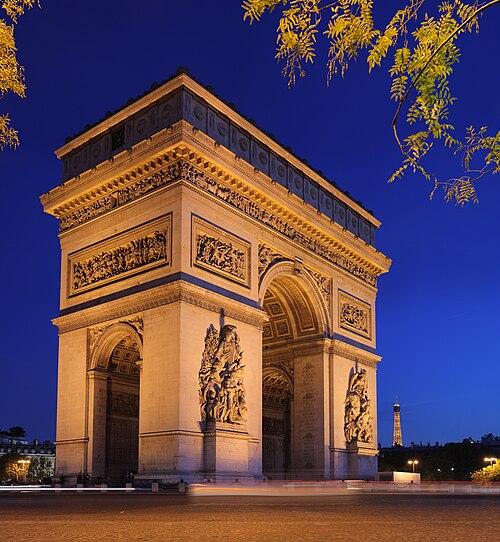 paris arc de triomphe - 736×736