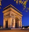 Pariser Triumphbogen (im Oktober 2007)